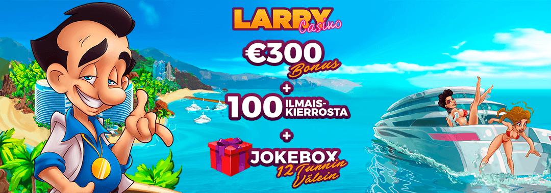 Larry Casino, maailman siistein mobiilikasino