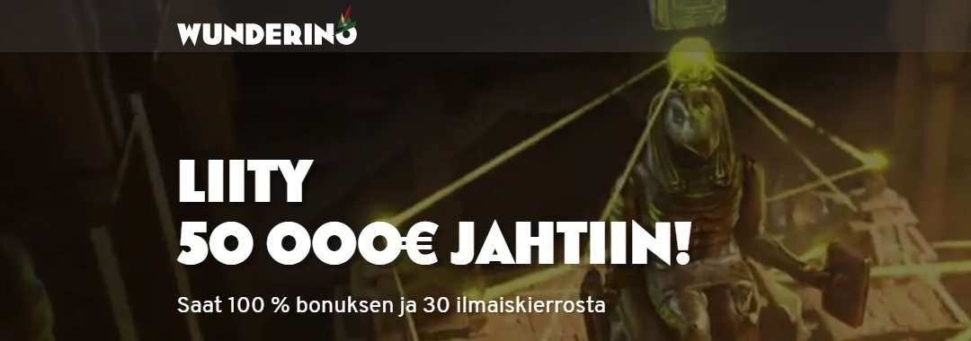 Wunderino-banner