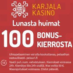 Legolas-150% talletusbonus jopa 300€ saakka